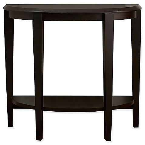 Monarch specialties 36 inch hall console table bed bath for 36 inch console table
