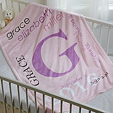 Personalized baby gifts personalized gifts for boys girls image of all about baby fleece blanket negle Choice Image