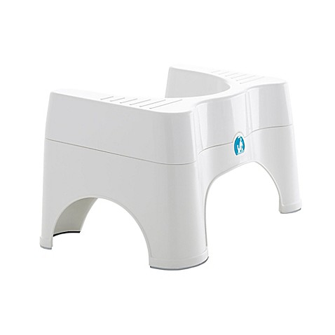 Squatty Potty 174 Ecco 2 Adjustable Combo Toilet Stool In