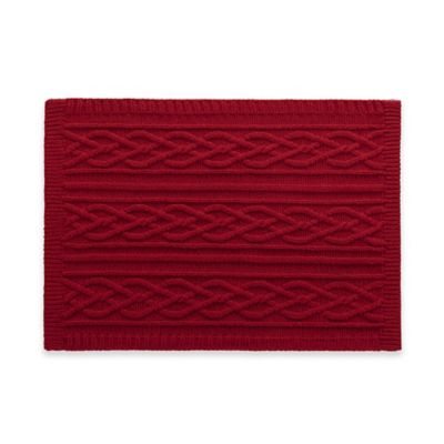 image of UGG® Cable Knit Placemat