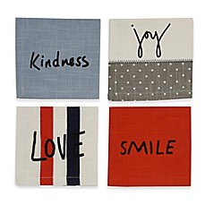image of ED Ellen DeGeneres Signature Collection Cocktail Napkins (Set of 4)