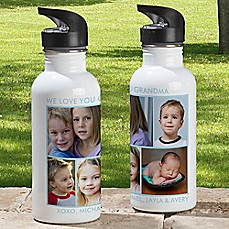 image of 5-Photo Picture Perfect 20 oz. Water Bottle