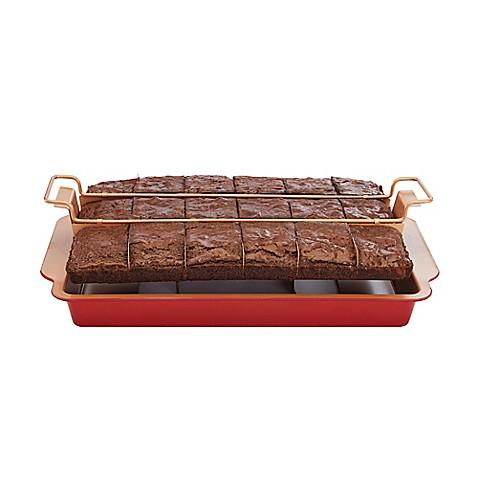 Red Copper Brownie Bonanza Pan - Bed Bath & Beyond - photo#15