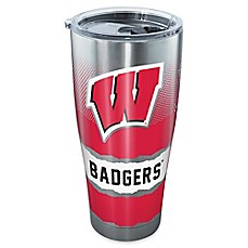 image of Tervis® University of Wisconsin Knockout Stainless Steel Tumbler with Lid