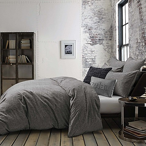 Kenneth Cole Mineral Yarn Dyed Comforter Set Bed Bath