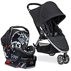 image of Britax B-Agile/B-Safe 35 Elite Travel System in Cowmooflage