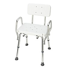image of dmi bath and shower chair in white