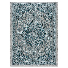 Tayse Rugs Veranda Medallion Indoor Outdoor Rug
