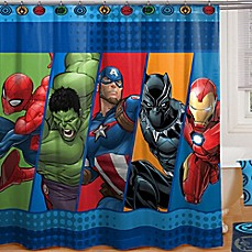 Marvel® Comics Shower Curtain Collection