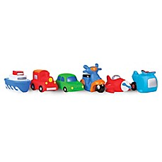 image of Waddle® Transportation 6-Pack Bath Squirties