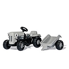 image of Rolly® Little Grey Fergie Tractor with Trailer