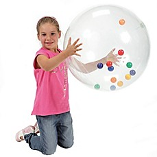 image of Gymnic® 21-Inch Activity Ball in Clear