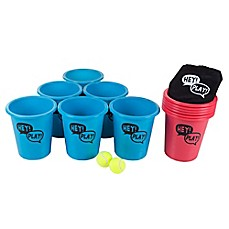 image of Hey! Play! Giant Beer Pong Outdoor Set
