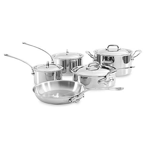 mauviel stainless open stock cookware - Mauviel