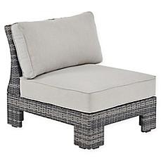 image of madison park scarlett outdoor lounge chair in dark greygrey