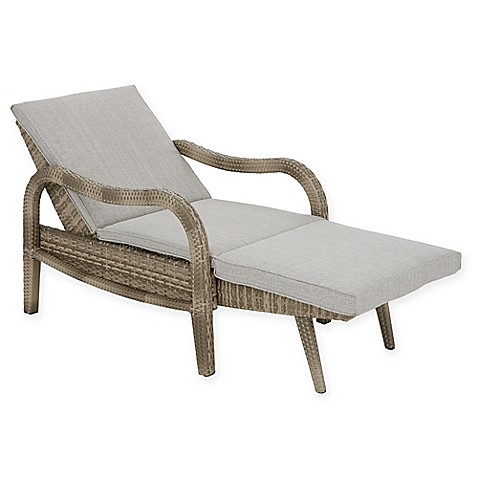Madison park danielle outdoor lounge convertible to chaise for Chaise convertible