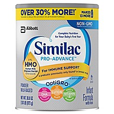 image of Similac® Pro-Advance Value Size 30.8 oz. Infant Formula Powder