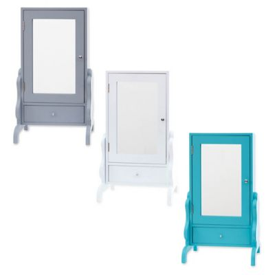 Tabletop Mirror with Jewelry Storage Bed Bath Beyond