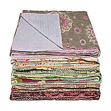 image of Kantha Cotton Throw