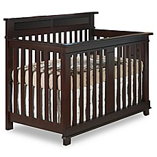 image of pali torino forever 4in1 convertible crib in mocha
