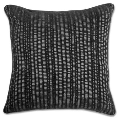 Decorative Pillow Makers : Make-Your-Own-Pillow Manuscript Square Throw Pillow Cover - Bed Bath & Beyond