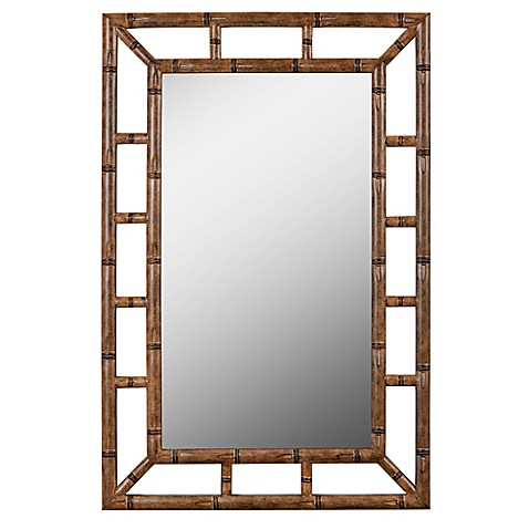buy kenroy home aviary 26 inch x 40 inch rectangular wall mirror from bed bath beyond. Black Bedroom Furniture Sets. Home Design Ideas