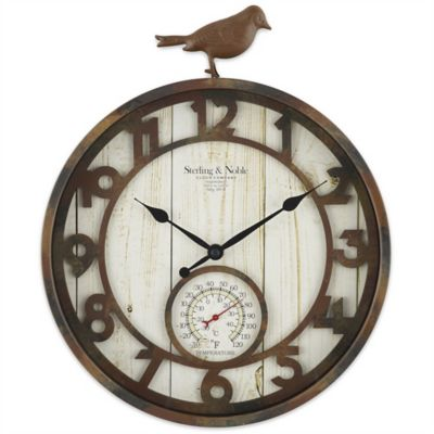 Outdoor Clocks and Thermometers - Bed Bath & Beyond