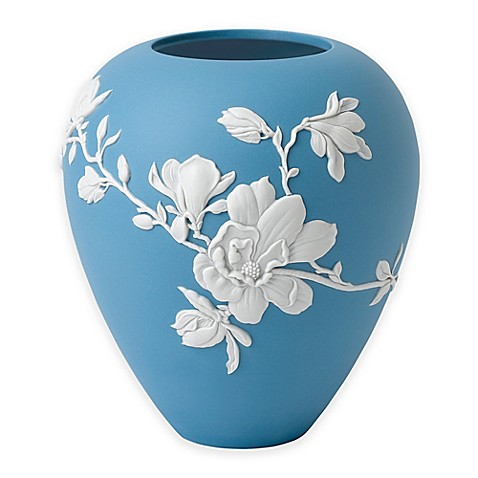Wedgwood Magnolia Blossom 7 Inch Vase Bed Bath Beyond