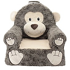 Sweet Seats® Plush Monkey Chair in Brown  sc 1 st  Bed Bath u0026 Beyond & Baby u0026 Kids Furniture Sets Toddler Step Stools | Bed Bath u0026 Beyond