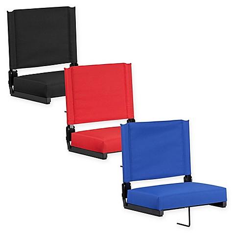 Flash Furniture Ultra Padded Stadium Chair Bed Bath Amp Beyond