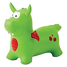image of MegaFun USA Dexter the Dragon Bounce-A-Long Buddies