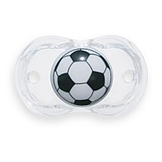 image of RaZbaby® Keep-it-Kleen Soccer Ball Pacifier
