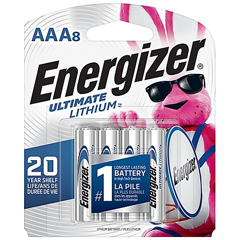 energizer 8 pack ultimate lithium aaa batteries bed bath beyond. Black Bedroom Furniture Sets. Home Design Ideas