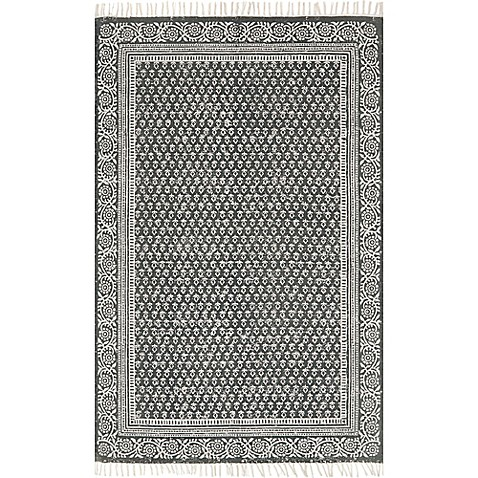 Magnolia Home By Joanna Gaines June Rug In Charcoal Bed