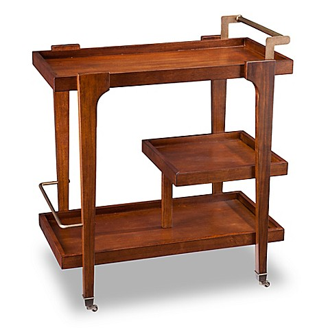 buy holly martin zhori midcentury modern bar cart in tobacco from bed bath beyond. Black Bedroom Furniture Sets. Home Design Ideas