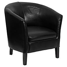 leather barrel chair bed bath beyond