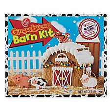 image of Gingerbread Barn Kit
