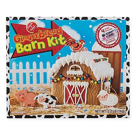 Gingerbread Barn Kit - Bed Bath & Beyond