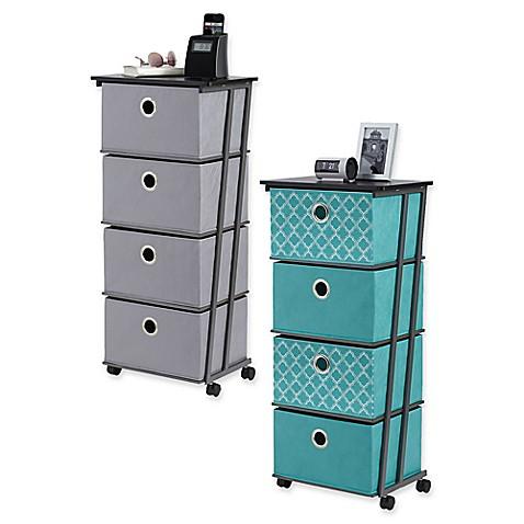 Image Of Studio 3BTM 4 Drawer Storage Cart