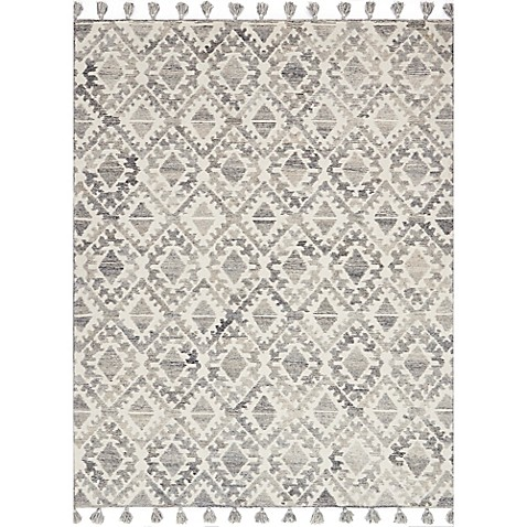 Magnolia Home By Joanna Gaines Teresa Rug In Ivory Silver