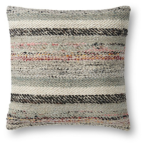 Magnolia Home By Joanna Gaines Lindsay Square Throw Pillow