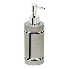 image of India Ink™ Blair Lotion Dispenser in Pewter