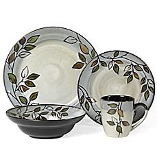 Pfaltzgraff Rustic Leaves 16-Piece Dinnerware Set  sc 1 st  Bed Bath u0026 Beyond & rustic dinnerware sets | Bed Bath u0026 Beyond