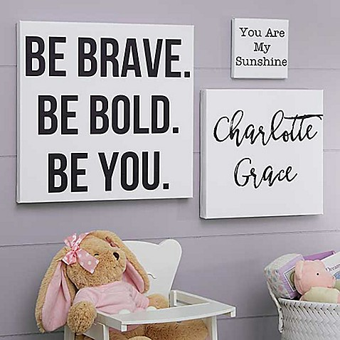 Write Your Own Kid Expressions Canvas Wall Art - Bed Bath & Beyond