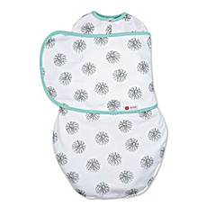 image of Embe® Circle Classic 2-Way Swaddle™ in Mint