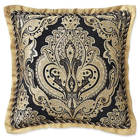 buy croscill pennington square throw pillow from bed bath beyond. Black Bedroom Furniture Sets. Home Design Ideas