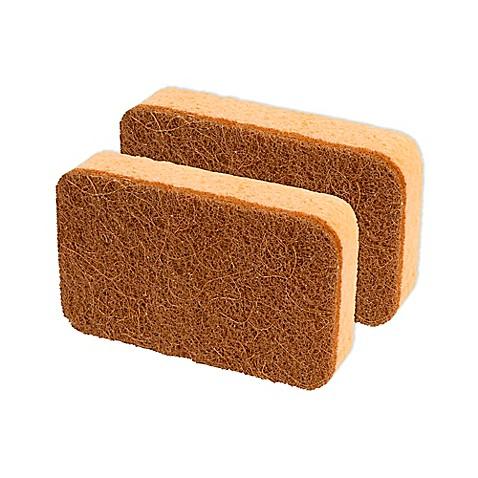casabella® 2-Pack Copper Power Cellulose Sponge - Bed Bath & Beyond