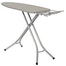 image of Household Essentials® Wide Top Ironing Board in Silver