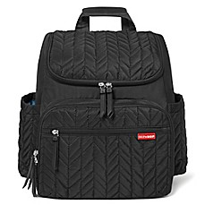 image of SKIP*HOP® Forma Backpack Diaper Bag in Jet Black