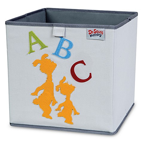 Trend Lab 174 Dr Seuss Abc Storage Bin From Buy Buy Baby